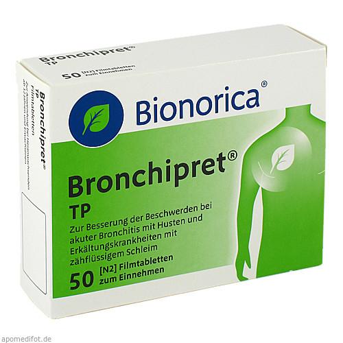 BRONCHIPRET TP, 50 ST, Bionorica Se