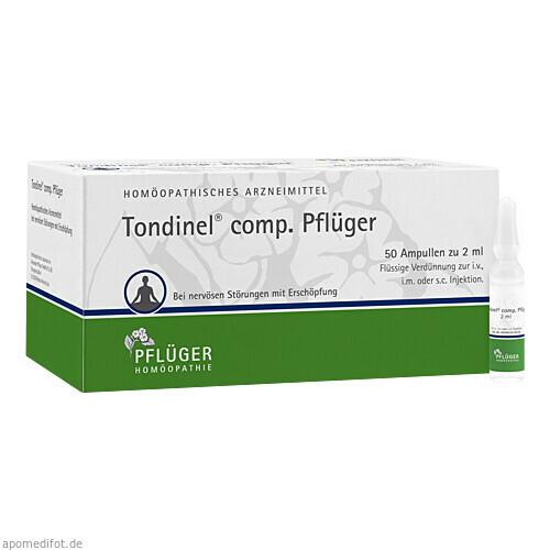 Tondinel comp. Pflüger, 50 ST, Homöopathisches Laboratorium Alexander Pflüger GmbH & Co. KG