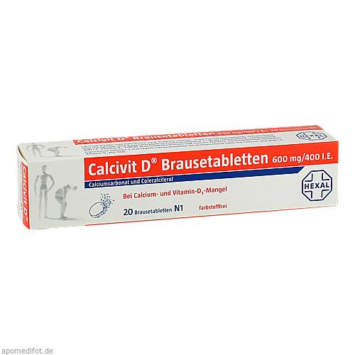 Calcivit D, 20 ST, Cheplapharm Arzneimittel GmbH