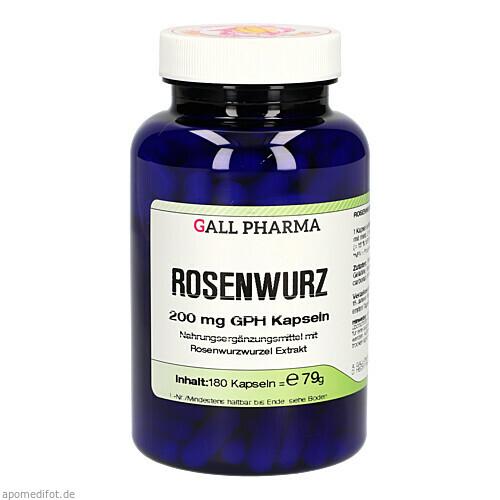 ROSENWURZ GPH Kapseln, 180 ST, Hecht-Pharma GmbH
