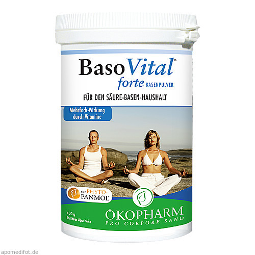 BasoVital forte Basenpulver, 400 G, Sanova Pharma GesmbH