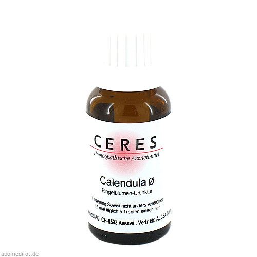 CERES Calendula Urt., 20 ML, Ceres Heilmittel GmbH