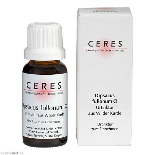 CERES Dipsacus fullonum Urt., 20 ML, Ceres Heilmittel GmbH