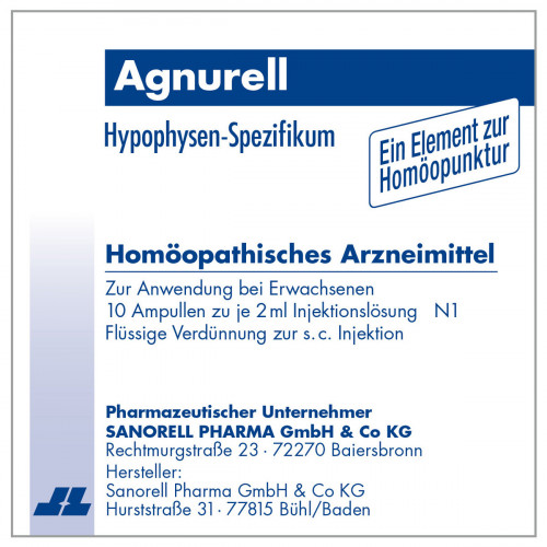 Agnurell Potenz Accord, 10X2 ML, sanorell pharma GmbH & Co KG