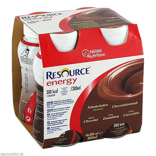 RESOURCE Energy Schokolade, 4X200 ML, Ghd Direkt Ii GmbH Vertriebslinie Nestle
