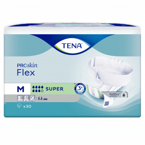 TENA Flex Super M, 3X30 ST, Essity Germany GmbH