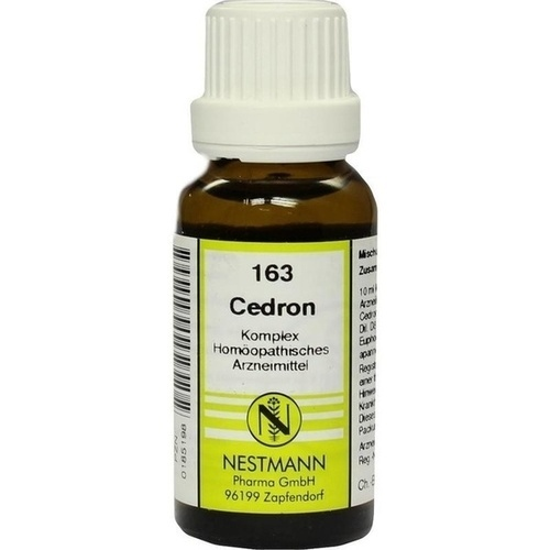 CEDRON KOMPLEX Nr.163 Dilution, 20 ML, NESTMANN Pharma GmbH
