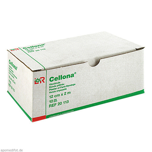 CELLONA GIPSBIN 2mx12cm, 10 ST, Lohmann & Rauscher GmbH & Co. KG