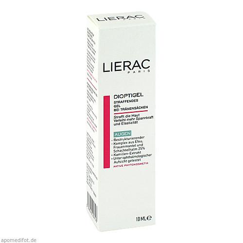 LIERAC Dioptigel Creme Milderung v.Tränensäcken, 10 ML, Ales Groupe Cosmetic Deutschland GmbH