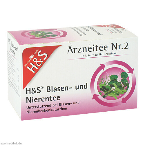 H&S BLASEN U NIERENTEE, 20X2.0 G, H&S Tee - Gesellschaft mbH & Co.