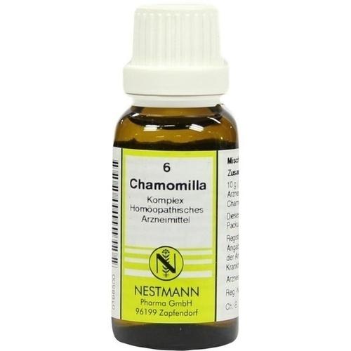 CHAMOMILLA KOMPL NESTM 6, 20 ML, Nestmann Pharma GmbH