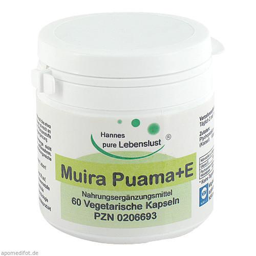 Muira Puama 500 Vegi Kapseln, 60 ST, G & M Naturwaren Import GmbH & Co. KG