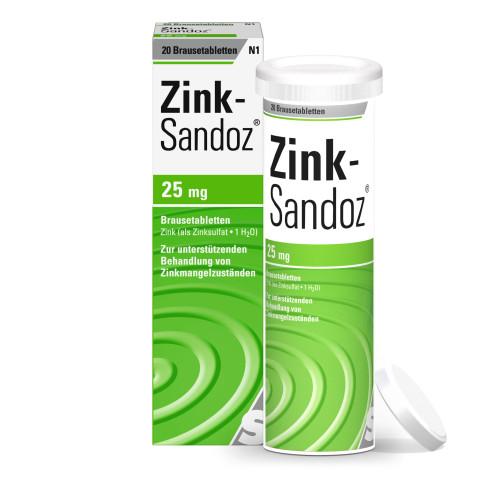Zink Sandoz, 20 ST, HEXAL AG