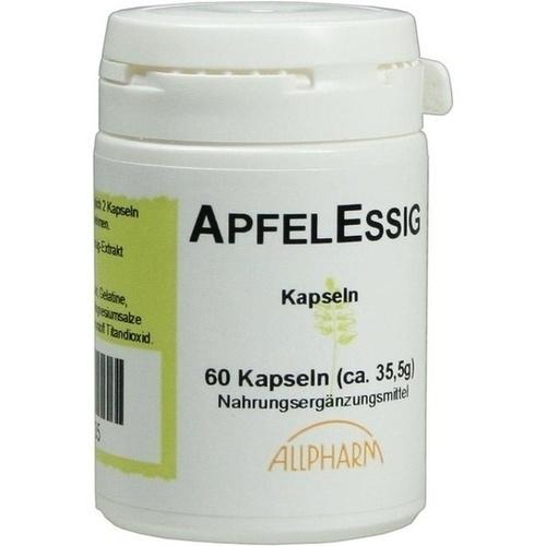 Apfel-Essig, 60 ST, Allpharm Vertriebs GmbH