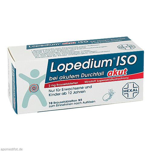 Lopedium akut Iso b.akutem Durchfall, 10 ST, HEXAL AG
