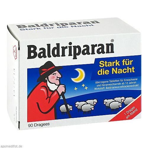 Baldriparan stark für die Nacht, 90 ST, Pfizer Consumer Healthcare GmbH