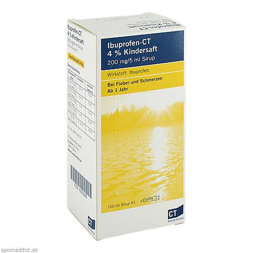 IBUPROFEN-CT 4% Kindersaft, 100 ML, AbZ Pharma GmbH