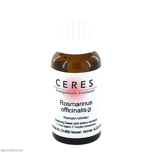 CERES Rosmarinus officinalis Urtinktur, 20 ML, CERES Heilmittel GmbH