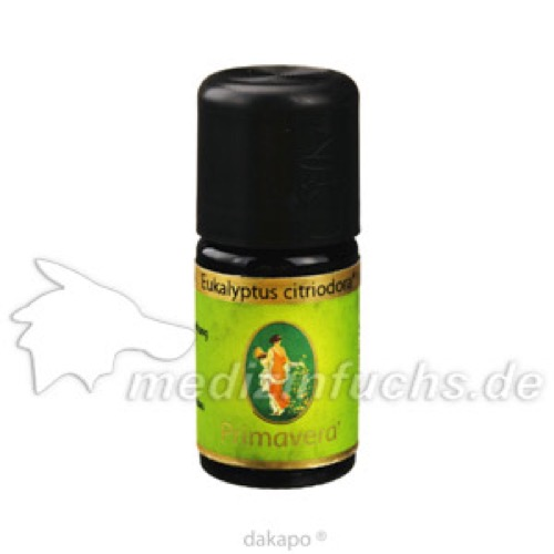 Eukalyptus citriodora kbA, 5 ML, Primavera Life GmbH