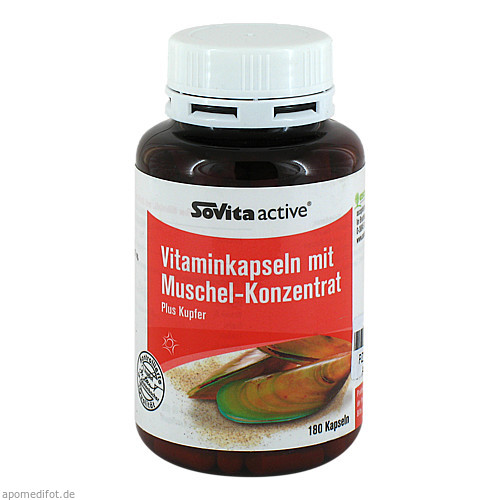 GRÜNLIPP-MUSCHEL-KONZENTRAT, 180 ST, Allpharm Vertriebs GmbH