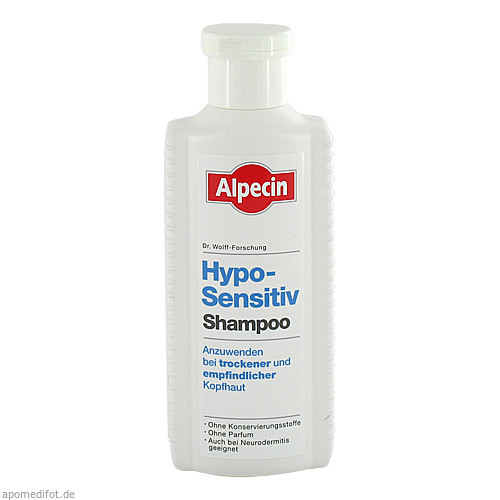 Alpecin Hypo-Sensitiv Shampoo b.trock.+empf.Kopfha, 250 ML, Dr. Kurt Wolff GmbH & Co. KG