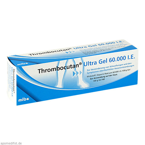 Thrombocutan Ultra GEL 60000 I.E., 100 G, Axicorp Pharma GmbH
