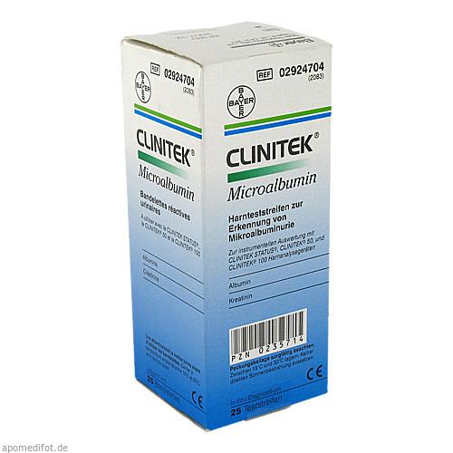 Clinitek Microalbumin, 25 ST, Siemens Healthcare GmbH
