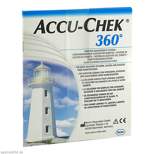 Accu-Chek 360 Software CD Standard, 1 ST, Roche Diabetes Care Deutschland GmbH