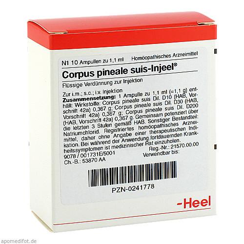 CORPUS PIN SUIS INJ OR, 10 ST, Biologische Heilmittel Heel GmbH