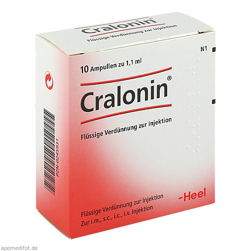 CRALONIN, 10 ST, Biologische Heilmittel Heel GmbH