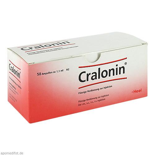 CRALONIN Ampullen, 50 ST, Biologische Heilmittel Heel GmbH