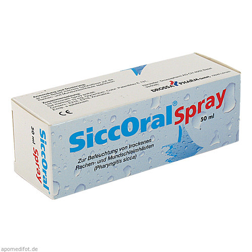 SiccOral Spray, 50 ML, Drossapharm GmbH