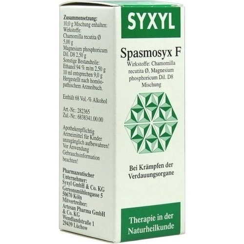 Spasmosyx F SYXYL, 50 ML, MCM KLOSTERFRAU Vertr. GmbH