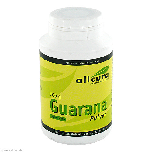 Guarana Pulver, 100 G, Allcura Naturheilmittel GmbH