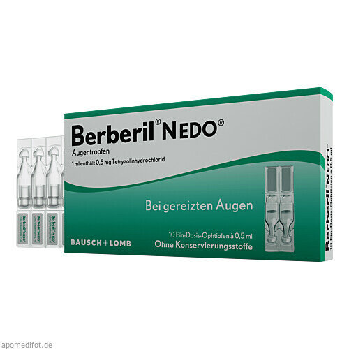 Berberil N EDO, 10X0.5 ML, Dr. Gerhard Mann