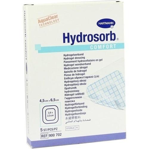 Hydrosorb comfort 4.5x6.5cm, 5 ST, Paul Hartmann AG