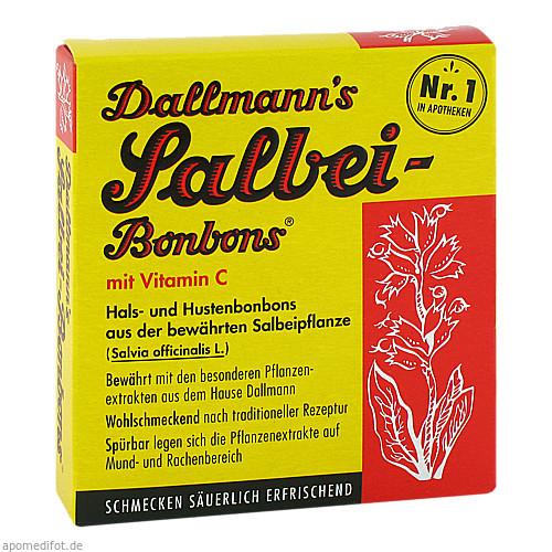 DALLMANNS SALBEIBONBONS, 20 ST, Dallmann & Co. Fabr.Pharm.Präp. GmbH