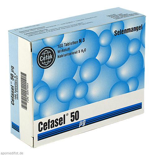 Cefasel 50ug, 100 ST, Cefak KG