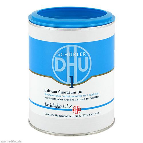 BIOCHEMIE DHU 1 CALCIUM FLUORATUM D 6, 1000 ST, Dhu-Arzneimittel GmbH & Co. KG