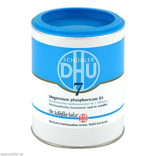 BIOCHEMIE DHU 7 MAGNESIUM PHOSPHORICUM D 3, 1000 ST, Dhu-Arzneimittel GmbH & Co. KG