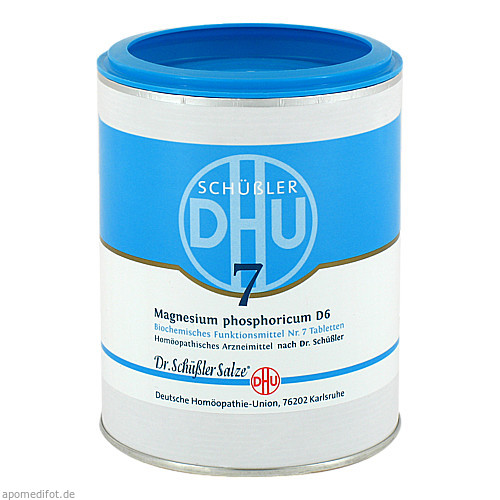 BIOCHEMIE DHU 7 MAGNESIUM PHOSPHORICUM D 6, 1000 ST, Dhu-Arzneimittel GmbH & Co. KG