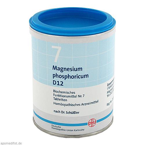 BIOCHEMIE DHU 7 MAGNESIUM PHOSPHORICUM D12, 1000 ST, Dhu-Arzneimittel GmbH & Co. KG