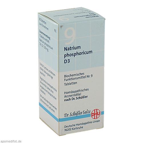 BIOCHEMIE DHU 9 NATRIUM PHOSPHORICUM D 3, 80 ST, Dhu-Arzneimittel GmbH & Co. KG