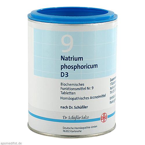 BIOCHEMIE DHU 9 NATRIUM PHOSPHORICUM D 3, 1000 ST, Dhu-Arzneimittel GmbH & Co. KG