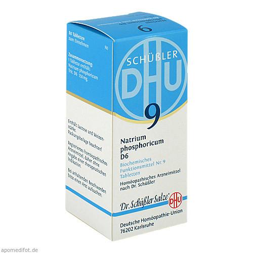 BIOCHEMIE DHU 9 NATRIUM PHOSPHORICUM D 6, 80 ST, Dhu-Arzneimittel GmbH & Co. KG