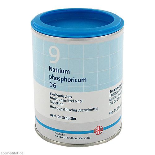BIOCHEMIE DHU 9 NATRIUM PHOSPHORICUM D 6, 1000 ST, Dhu-Arzneimittel GmbH & Co. KG
