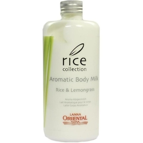 Aromatic Body Milk Rice & Lemongrass, 300 ML, Lucien Ortscheit GmbH