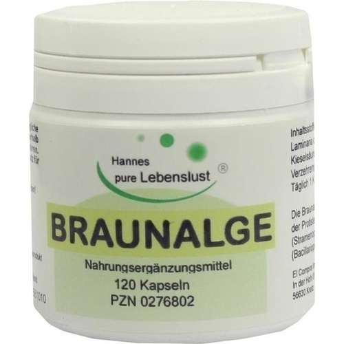 Braunalgen Vegi-Kaps, 120 ST, G & M Naturwaren Import GmbH & Co. KG