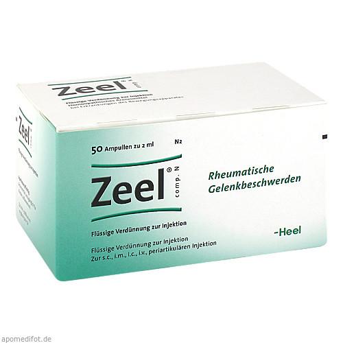 Zeel comp. N, 50 ST, Biologische Heilmittel Heel GmbH