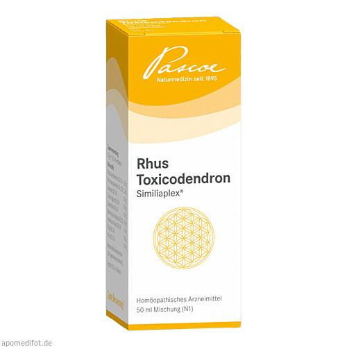 RHUS TOXICODENDRON SIMILIAPLEX, 50 ML, Pascoe Pharmazeutische Präparate GmbH